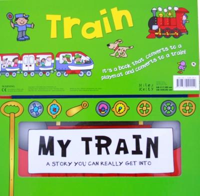 Convertible Train (組み立て絵本)(電車)