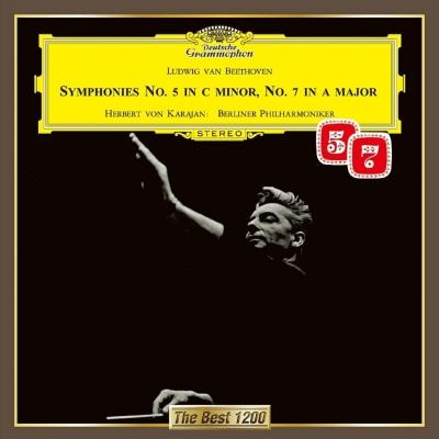 交響曲第5番『運命』、第7番 カラヤン&ベルリン・フィル(1962)
