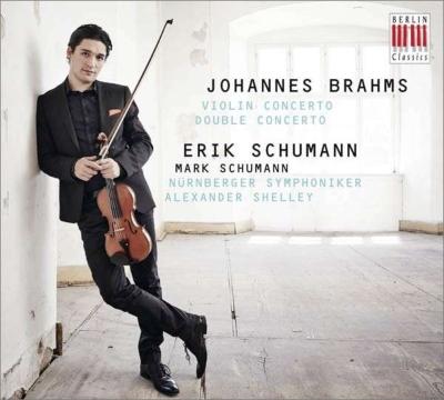 Violin Concerto, Double Concerto : Erik Schumann(Vn)Mark Schumann(Vc)A.Shelley / Nurnberg Symphony Orchestra