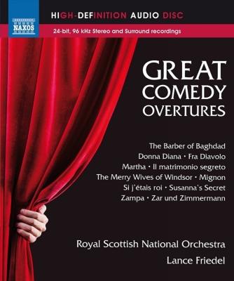 偉大なる喜劇のための序曲集 フリーデル&スコティッシュ・ナショナル管弦楽団