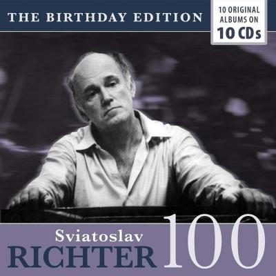 スヴィヤトスラフ・リヒテル名演集〜生誕100年ボックス(10CD)