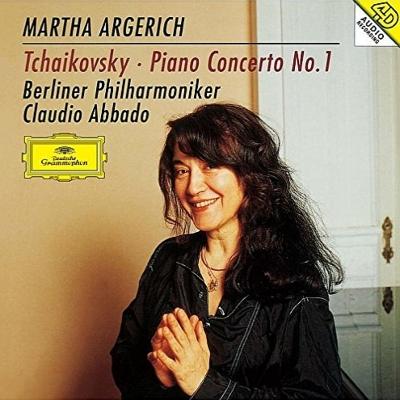チャイコフスキー:ピアノ協奏曲第1番、ラヴェル:ピアノ協奏曲 アルゲリッチ、アバド&ベルリン・フィル、ロンドン響