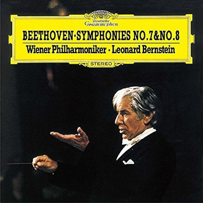 Symphonies Nos.7, 8 : Bernstein / Vienna Philharmonic (Single Layer)