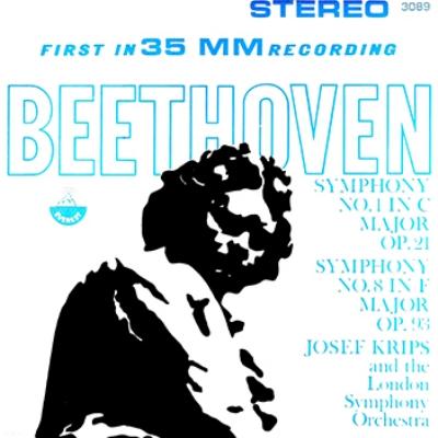 交響曲第1&8番 クリップス&ロンドン交響楽団(SACD)