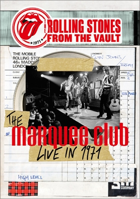 FROM THE VAULT -THE MARQUEE CLUB LIVE IN 1971 (DVD+CD)
