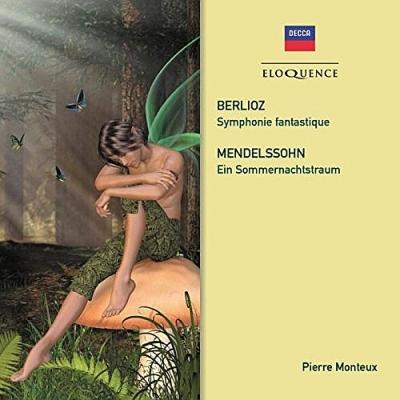 ベルリオーズ:幻想交響曲、メンデルスゾーン:『真夏の夜の夢』より モントゥー&ウィーン・フィル