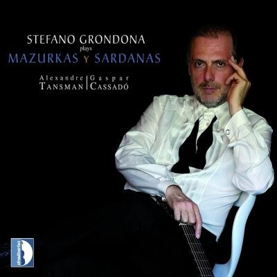 『マズルカとサルダーナ~タンスマン、カサド:ギター作品集』 グロンドーナ