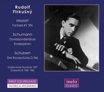 シューマン:子供の情景、ダヴィット同盟舞曲集、モーツァルト:幻想曲ハ短調、シューベルト:3つの小品 フィルクシュニー(1957〜64)