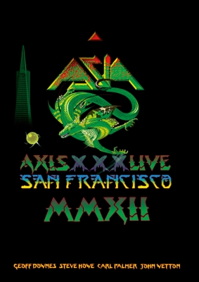 Asia Live In San Francisco 2012: オリジナル エイジア30周年 & 最後のツアー (+CD)