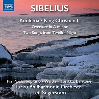 劇音楽『クオレマ』、組曲『クリスティアン2世』、序曲イ短調、他 セーゲルスタム&トゥルク・フィル