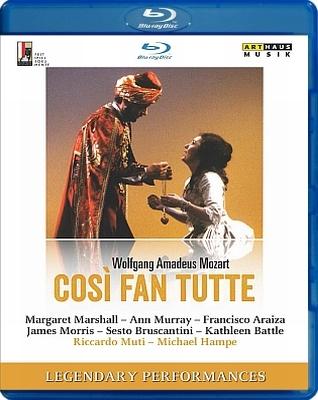 『コジ・ファン・トゥッテ』全曲 ハンペ演出、ムーティ&ウィーン・フィル、マーシャル、マレイ、ブルスカンティーニ、他(1983 ステレオ)