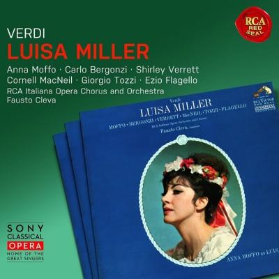『ルイーザ・ミラー』全曲 クレヴァ&RCAイタリア・オペラ管、モッフォ、ベルゴンツィ、マックニール、他(1964 ステレオ)(2CD)