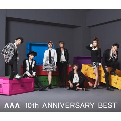 AAA 10th ANNIVERSARY BEST (2CD+DVD)