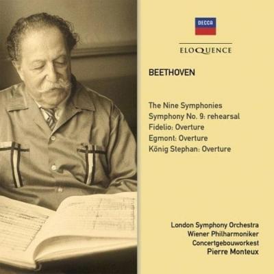 交響曲全集、序曲集、リハーサル風景 モントゥー&ウィーン・フィル、ロンドン響+第3番『英雄』 モントゥー&コンセルトヘボウ管(6CD)