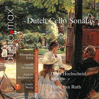 オランダの作曲家によるチェロ作品集第7集 ホックスカイド、ルース