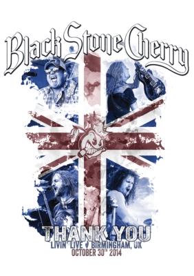 Black Stone Cherry Thank You: Livin' Live Birmingham Uk 2014