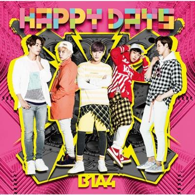happy days 初回限定盤a cd b1a4 special book b1a4