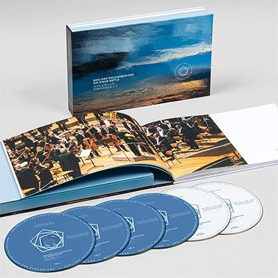 Comp.symohonies: Rattle / Bpo (+blu-ray Audio)