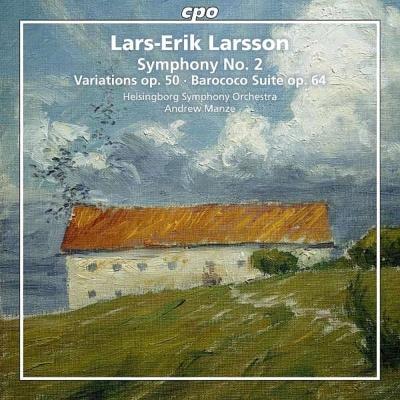 交響曲第2番、変奏曲、組曲『ラロココ』 マンゼ&ヘルシンボリ交響楽団