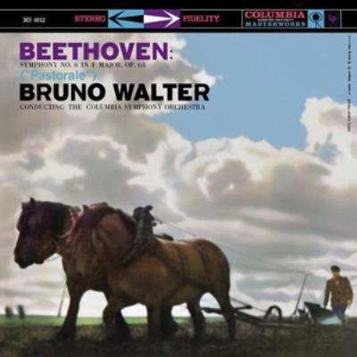 交響曲第6番「田園」:ブルーノ・ワルター指揮&コロンビア交響楽団 (1958) (高音質盤/33回転/200グラム重量盤レコード/Analogue Productions/*CL)