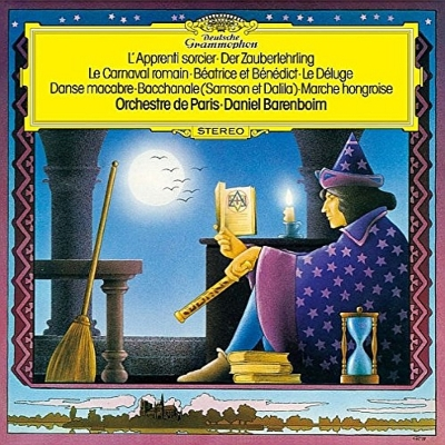 ベルリオーズ:ローマの謝肉祭、サン=サーンス:死の舞踏、デュカス:魔法使いの弟子、他 バレンボイム&パリ管弦楽団