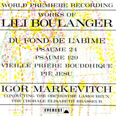 『深き淵より』 マルケヴィチ&ラムルー管弦楽団、エリザベート・ブラッスール合唱団