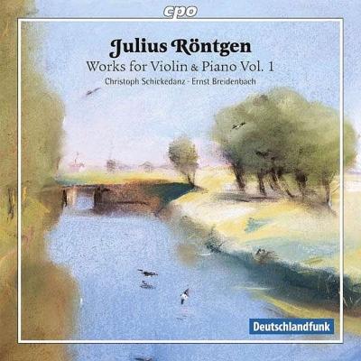 ヴァイオリンとピアノのための作品集第1集 シッケダンツ、ブライテンバッハ