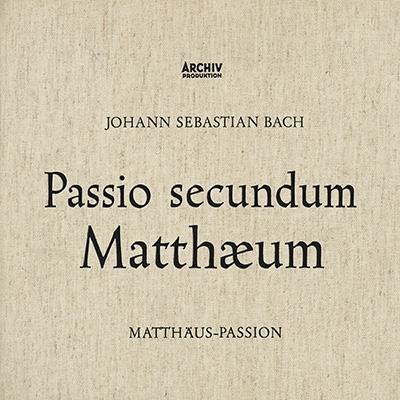 マタイ受難曲 リヒター&ミュンヘン・バッハ管弦楽団(1958)(3SACDシングルレイヤー)