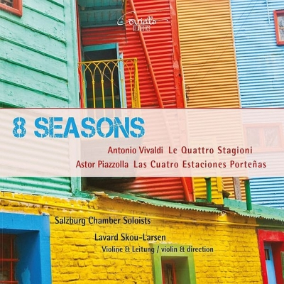 Eight Seasons : Skou-Larsen(Vn)Salzburg Chamber Soloists