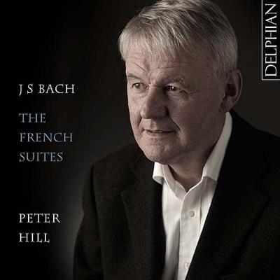 フランス組曲全曲 ピーター・ヒル(ピアノ)(2CD)