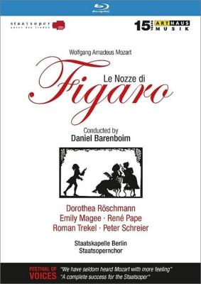 『フィガロの結婚』全曲 ラングホフ演出、バレンボイム&ベルリン国立歌劇場、パーペ、レシュマン、トレケル、他(1999 ステレオ)(日本語字幕付)