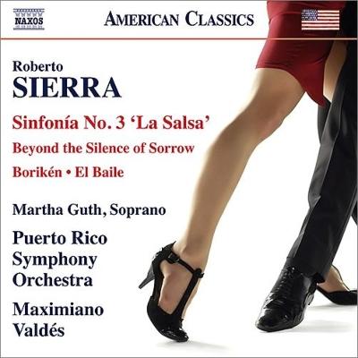 交響曲第3番『ラ・サルサ』、歌曲集『悲しみの沈黙を越えて』、他 バルデス&プエルトリコ響、マルタ・グート