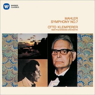 交響曲第7番『夜の歌』 クレンペラー&ニュー・フィルハーモニア管弦楽団(2CD)