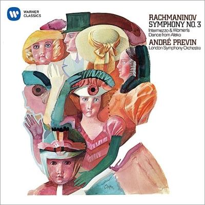交響曲第3番、『アレコ』より プレヴィン&ロンドン交響楽団