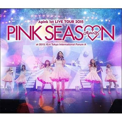 Apink 1st LIVE TOUR 2015 〜PINK SEASON〜(Blu-ray)