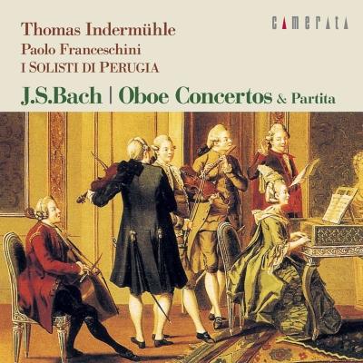 Oboe Concertos: Indermuhle(Ob, Ob D'amore)Brizi(Cemb)/ I Solisti Di Perugia Franceschini(Vn)