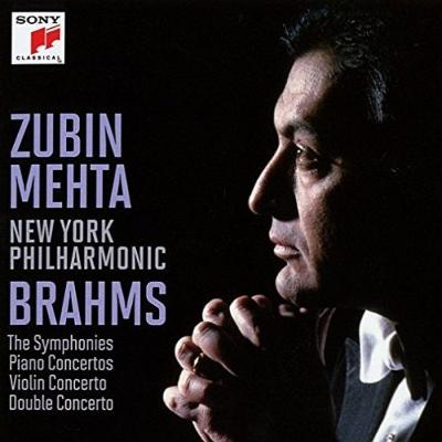 交響曲全集、協奏曲全集 メータ&ニューヨーク・フィル、バレンボイム、スターン、ズッカーマン、ハレル(8CD)