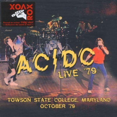 Live '79: Towson State College Maryland -Kbfh Broadcast