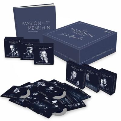 イェフディ・メニューイン生誕100年記念録音全集(80CD+11DVD)