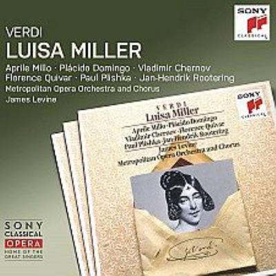 『ルイーザ・ミラー』全曲 レヴァイン&メトロポリタン歌劇場、ミッロ、ドミンゴ、他(1991 ステレオ)(2CD)