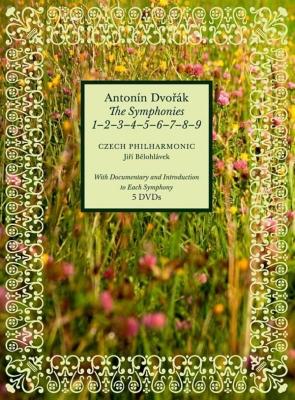 交響曲全集 イエジ・ビエロフラーヴェク&チェコ・フィル(2014ライヴ)(5DVD)