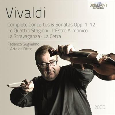 Complete Concertos & Sonatas Op.1-12 : Guglielmo(Vn)/ L'Arte dell'Arco (20CD)