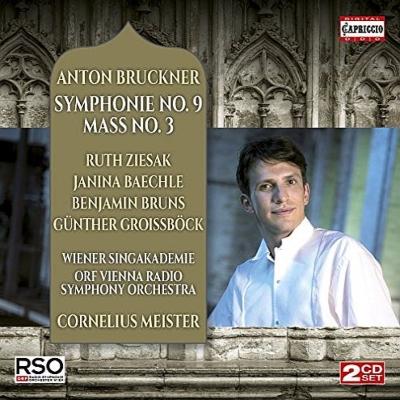交響曲第9番、ミサ曲第3番 コルネリウス・マイスター&ウィーン放送交響楽団、ツィーザク、他(2CD)