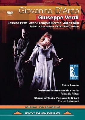 『ジョヴァンナ・ダルコ』全曲 チェレサ演出、フリッツァ&イタリア国際管、プラット、ボラス、他(2013 ステレオ)(日本語字幕付)