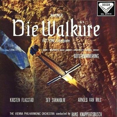 『ワルキューレ』第1幕、ジークフリートの葬送行進曲、ラインへの旅 クナッパーツブッシュ&ウィーン・フィル、フラグスタート(シングルレイヤー)