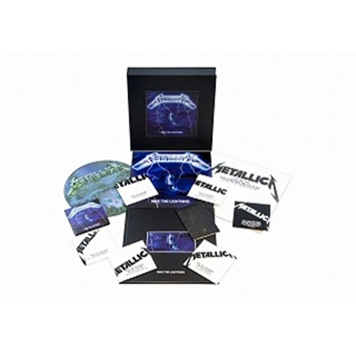 Ride The Lightning -remastered Deluxe Box Set (6CD+4LP+DVD)(限定盤)