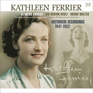 Ferrier: Mahler: Kindertotenlieder, Brahms: Alto Rhapsody, J.s.bach, Handel (2枚組アナログレコード/Vinyl Passion Classical)