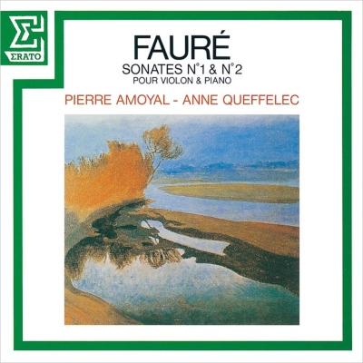 ヴァイオリン・ソナタ第1番、第2番 ピエール・アモイヤル、アンヌ・ケフェレック