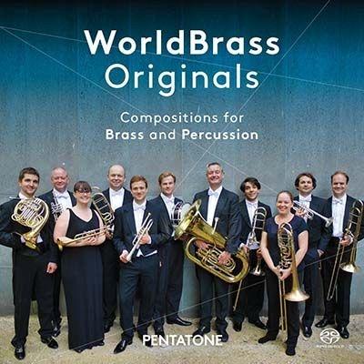 ワールドブラス・オリジナルズ〜吹奏楽と打楽器のための作品集