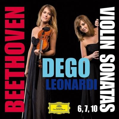 ヴァイオリン・ソナタ第6番、第7番、第10番 フランチェスカ・デゴ、フランチェスカ・レオナルディ